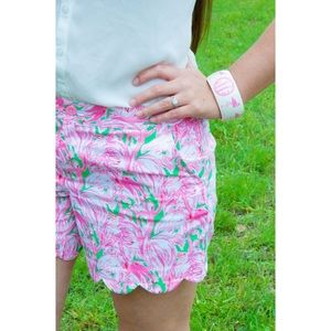 Lilly Pulitzer Buttercup Shorts Pink Flamingo